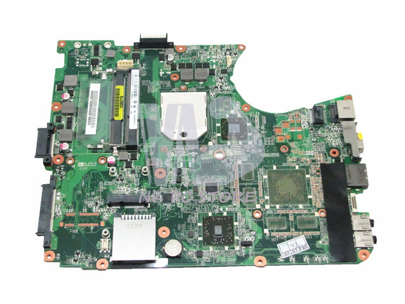 A000076380 For Toshiba Satellite L655D L650D Notebook Motherboard Socket s1 DDR3 Free CPU DA0BL7MB6D0 nokotion a000076380 laptop motherboard for toshiba satellite l655d l650d socket s1 ddr3 da0bl7mb6d0