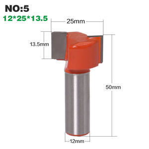 Image 4 - 1pc 12mm Shank Straight Router Bits Woodworking Carving 2 Flute Wood Engraving Milling Cutter Carbide CNC Bits