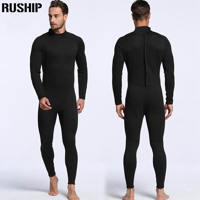 High quality 2mm men neoprene Diving suit wetsuit color stitching Surf Equipment Jellyfish clothing long-sleeved piece fittedHigh quality 2mm men neoprene Diving suit wetsuit color stitching Surf Equipment Jellyfish clothing long-sleeved piece fitted