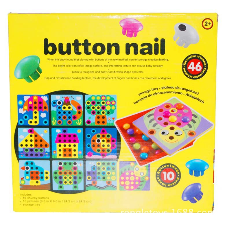 Art Educational Toys : מוצר baby educational toy button art creative mosaic