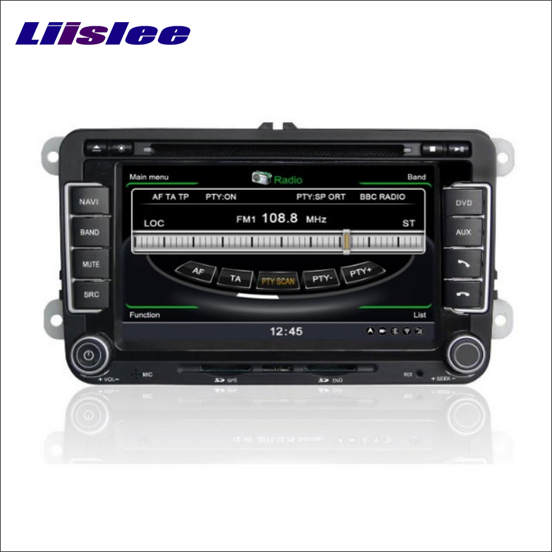 Liislee For Skoda Rapid 2011~2012 Stereo Car GPS Navi Map Navigation System Radio DVD BT iPod WIFI HD Screen Multimedia System