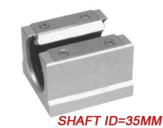 Free Shipping 10PCS/Lot SBR35UU CNC Linear Ball Bearing Support Unit Pillow Blocks With Platen 35mm SBR Series free shipping 10pcs lot ltm8062 ltm8062ev ltm8062iv ltm8062v linear lga 77 best quality