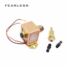 12V Petrol Diesel Electric Fuel Pump For Ford Carburetor Facet Red Top Square 40104 40106 40107 P502 Universal Low Pressure free shipping high quality electronic fuel pump p502 12v fuel pump for carburetor ford