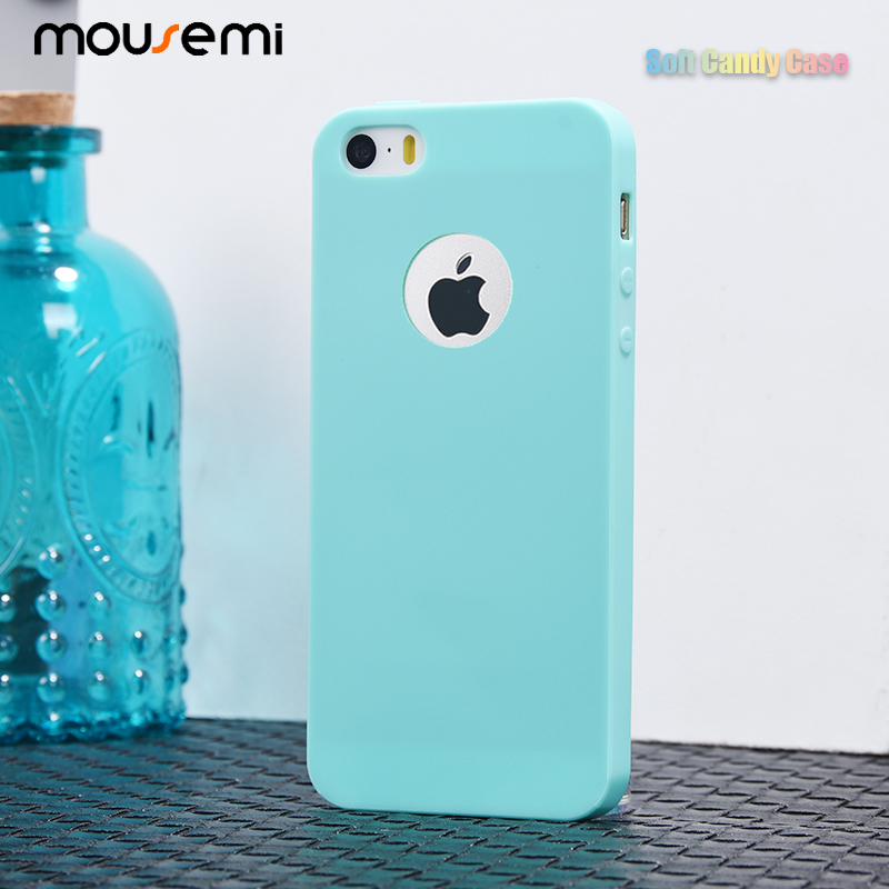 uk availability 1b107 f34cf US $1.11 39% OFF|CAPAME For iPhone 5S Case For iPhone SE 5 5S Shockproof  360 Girls Cute Case Candy Soft Silicone Case For iPhone 5S Fundas 5S SE-in  ...