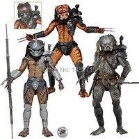 NECA Predators Series 12 Enforcer The Ultimate Alien Hunter Elder V2 Predator 7 Action Figure Toys New Box
