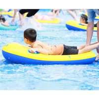Floating Bed Surfboard Inflatable Pools & Water Fun Kids Floating Swimming Toys Ring Beach Swimming Children Outdoor Sport