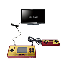 RS 20 handheld game players 2.7 inch color screen video game console built-in 600 classic retro game add 1 joystick