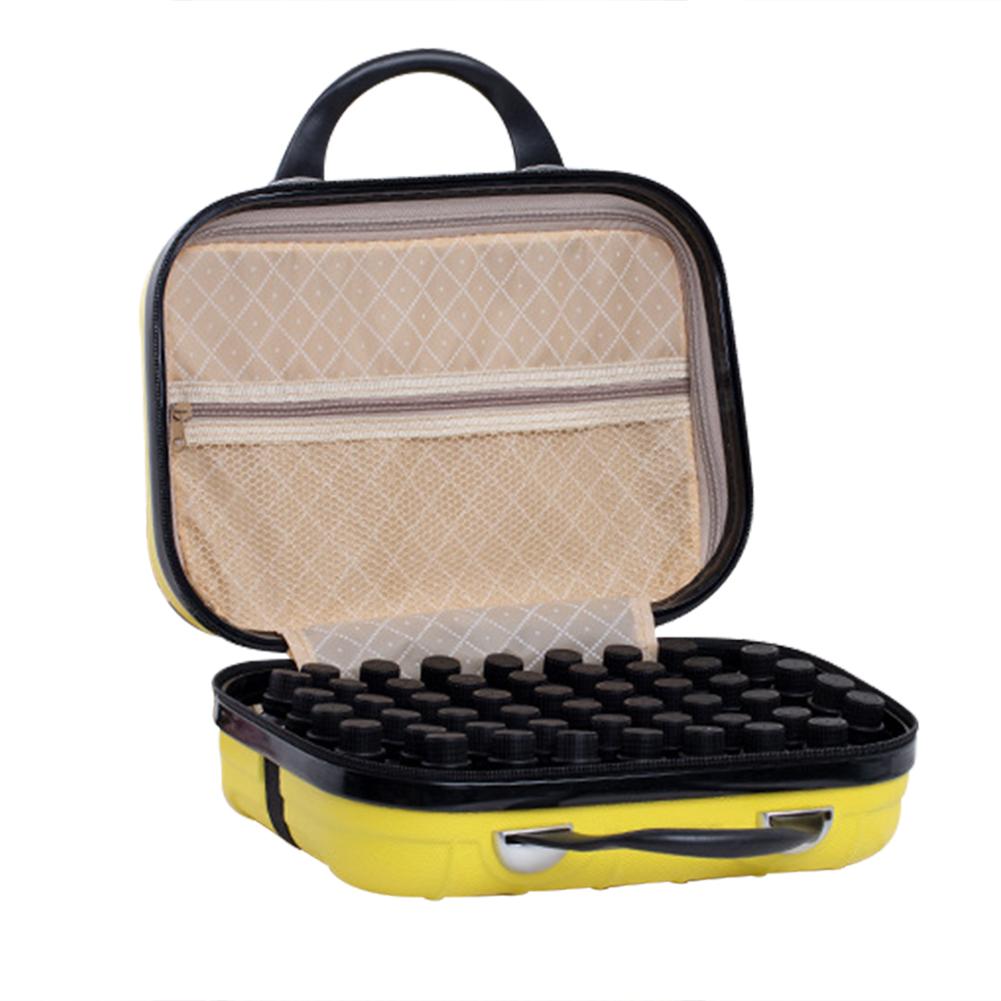 64 Compartment Essential Oil Bottle Travel Bag 15ML Portable Essential Oil Bottle Organizer Case 35