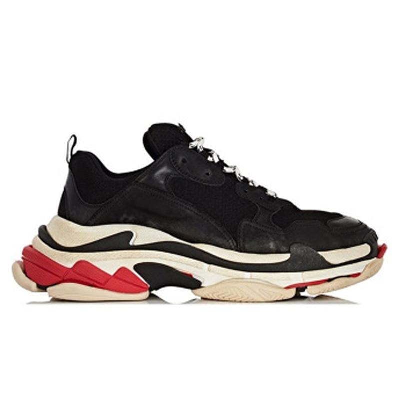Ins Femmes Pour 2 Chaussures Cuir 5 forme Véritable 7 Mélangées De 9 Super 6 Luxe other Style 4 Mode 3 Couleurs 2018 Plate 1 Feu Colors Sneakers 8 XnHEWYqAW