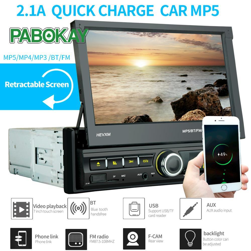 2 Din Car DVD Player 7'' Universal Double Din GPS Navigation Video Mutimedia Stereo Audio MP5  Radio Multimedia  2din