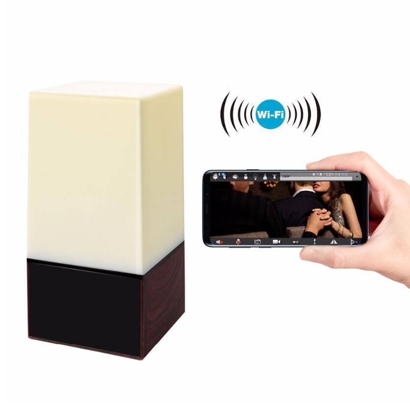 Multifunction Home Security Wireless Lighting Table Lamp Security Camera 2MP Image Sensor System Personal Smart WIFI Mini IP