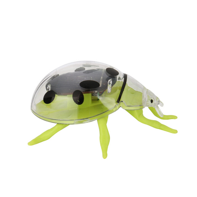 Solar Toys Solar Powered Shaking Random Ladybug Toy For Kids Solar Energy Educational Toy Toy Gift  For Kids #40 6