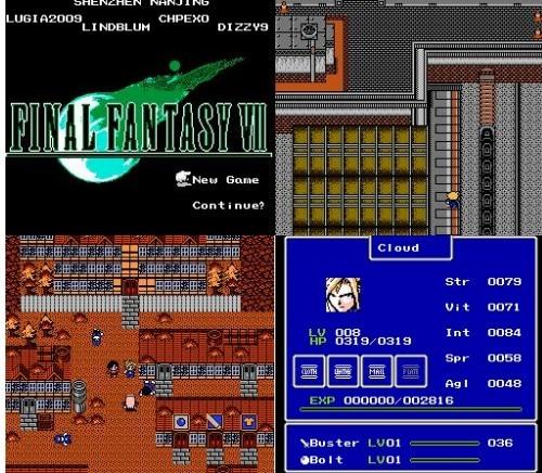 Купить с кэшбэком FINAL FANTASY VII Game Cartridge for 60PINS 8 bit game cartridge