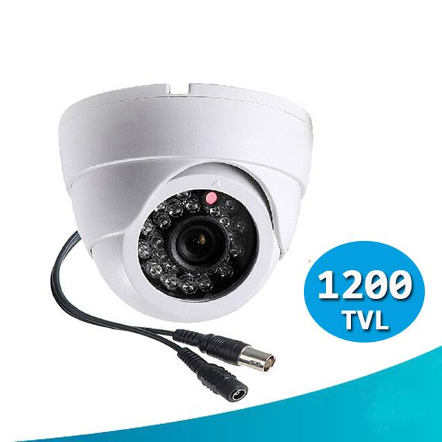 """1200tvl vigilancia cámara construir-en 1/3 """"sony sensor cmos ir-cut 24 led infrarrojos de visión nocturna cctv cubierta de seguridad cctv cámara"""