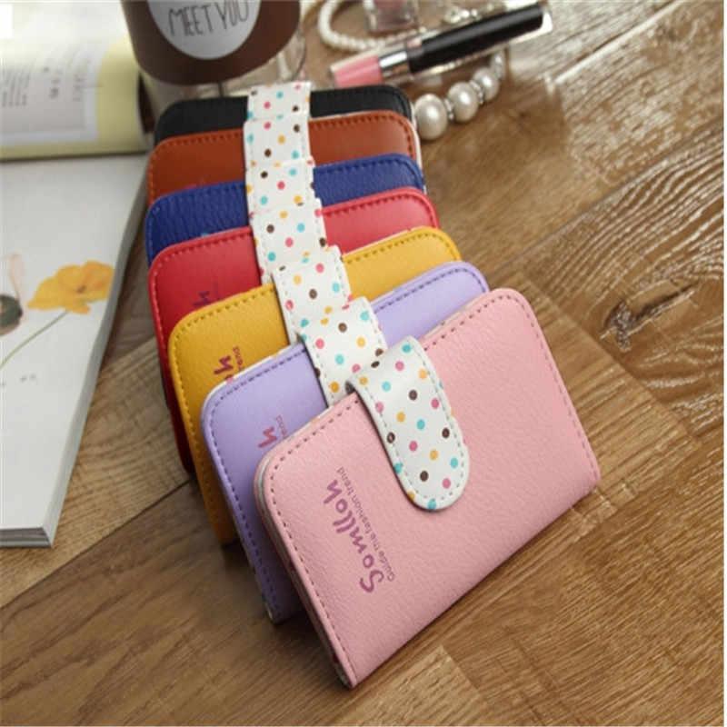 ¡Producto en oferta! ¡venta al por mayor! billeteras y soportes para tarjetas de visita con tarjeta bancaria de señora Wave point 3017