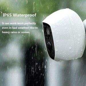 Image 2 - Wouwon 100% sans fil inclus batterie IP caméra extérieure sans fil résistant aux intempéries sécurité WiFi caméra CCTV alarme photo iCSee APP
