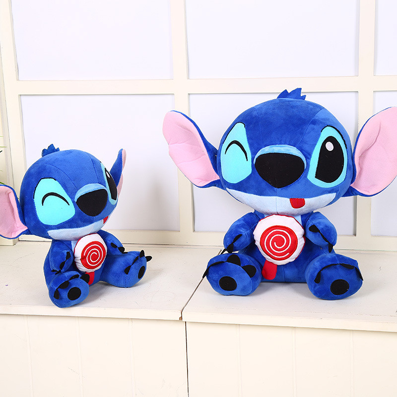 35cm/45cm/55cm/65cm Cute Stitch Big Size Stitch Plush Toy Stuffed Stuffed Animals Doll Kids Toys Creative Gift Christmas gift 55cm cute cartoon lilo and stitch warm hand pillow plush toy doll stuffed pillow cushion toys dolls warm hands stitch kids toy