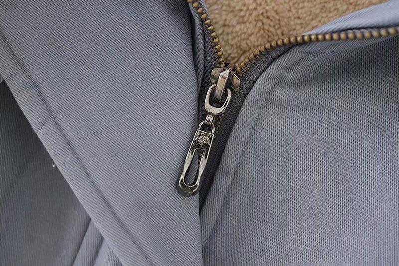 Hiver Parkas Mode La Capuche Chaud Lâche Casual Vêtements À Manteaux Plus Polaire Femmes Taille 5xl Doublure 180228 Noir gris De B1 vert Rembourré gfqdxvd