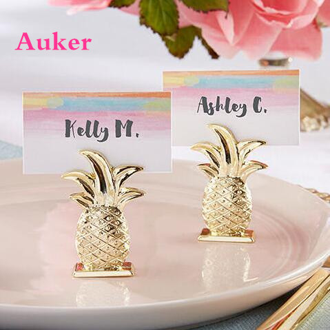 Dhl free shipping 80pcslot wedding decoration gold pineapple place dhl free shipping 80pcslot wedding decoration gold pineapple placename photo junglespirit Gallery