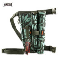 Kingdom torby wędkarskie torba na sprzęt wędkarski wodoodporny Nylon o dużej pojemności wielofunkcyjny 339g 34x27x11cm torba wędkarska Model LYB-15