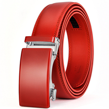 High Quality Genuine Leather Belt With An Automatic Buckle