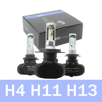 Car LED Headlights H8 H9 H4 H11 H7 LED Head Lamp Fog Light 50W 6500K CSP