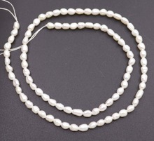 Natural White Baroque Drop Pearl Loose Beads Jewelry Making 14 inches 3mmX4-5mm 16 inches 30 40mm aaa natural lavender fireball baroque pearl loose strand
