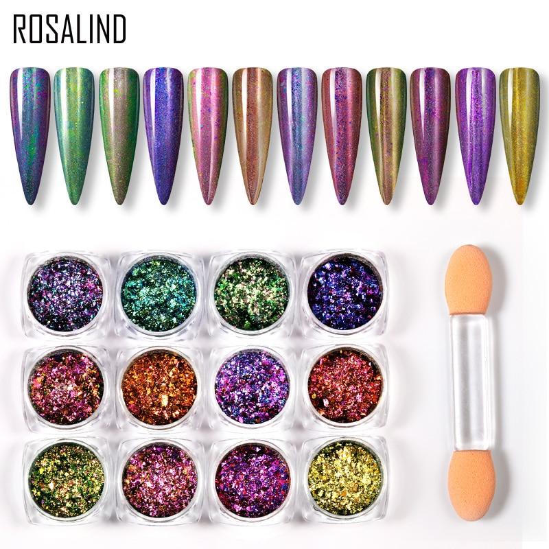(Скидка зазора) Розалинд 0,2 г блеск для ногтей порошок для ногтей Декоративный пигмент Павлин порошок для дизайна ногтей маникюр верхнее Базовое покрытие|Блестки для ногтей|   | АлиЭкспресс