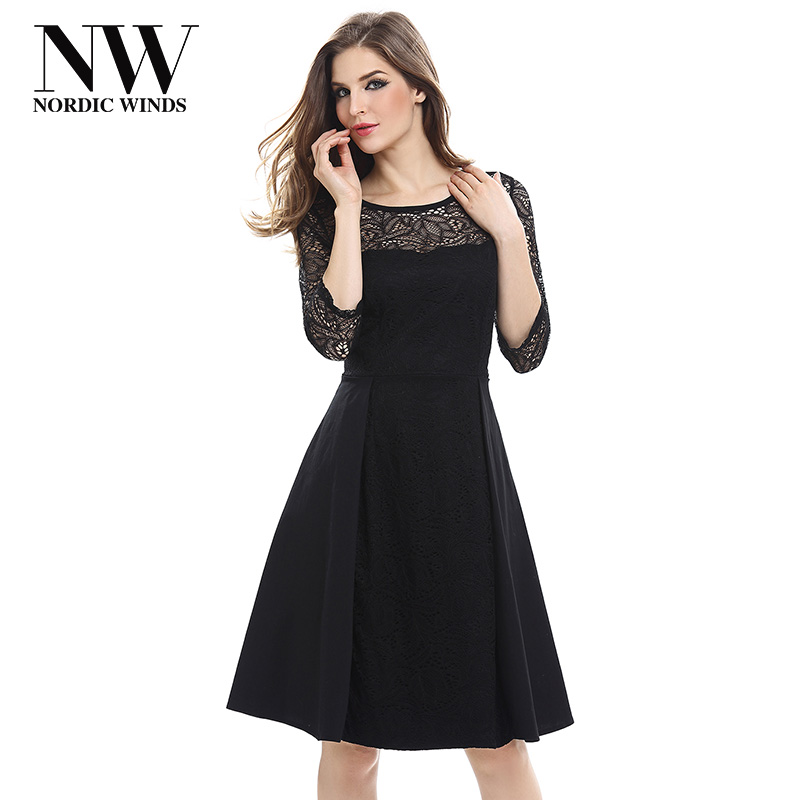 Black Sleeve Lace Dress 3 Jcpenney 4