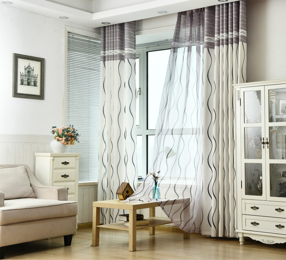 ᐂ2016 Hot rose modern tulle for windows shade sheer curtains fabric ...