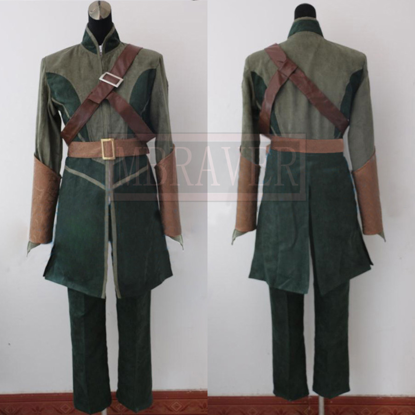 The Lord Of The Rings The Hobbit Legolas cosplay costume Tailor made Any Size Z1002