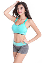 Women Yoga Sets Sports Bra + Shorts [6 Colors]