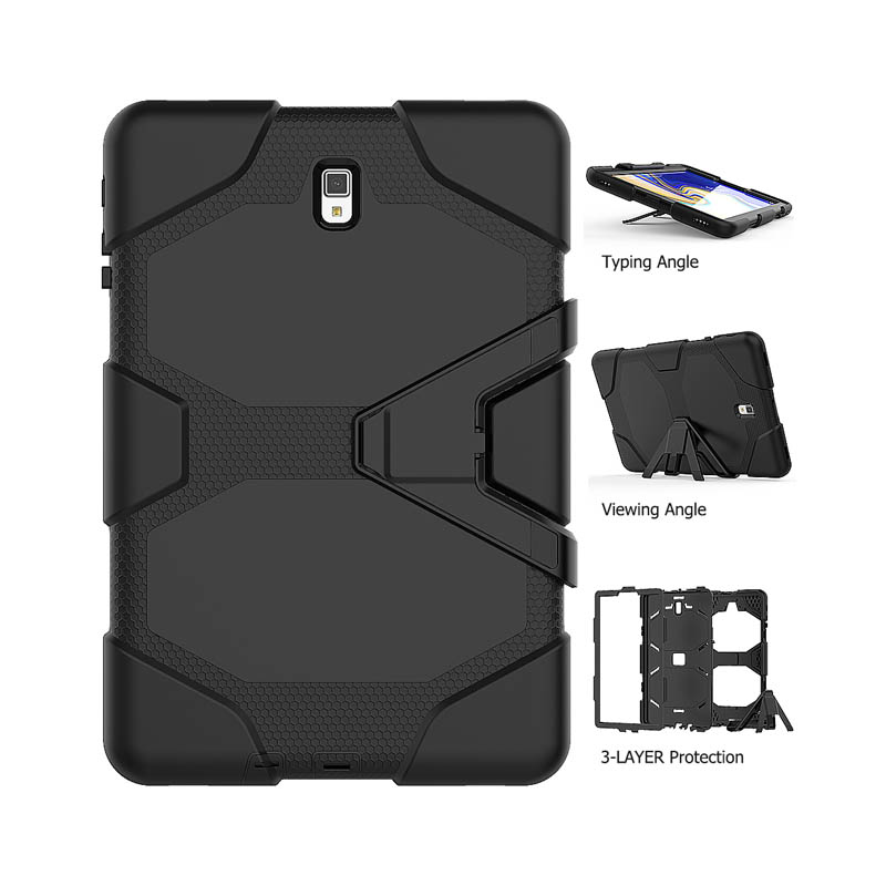 Full Protector Armor Stand Case For Samsung Galaxy Tab A A2 S4 10 5 2018 T830