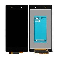 Клей AAA Качества Для Sony Xperia Z1 L39H L39 C6902 C6903 C6906 ЖК-Дисплей с Сенсорным Экраном Дигитайзер Ассамблеи Бесплатный корабль