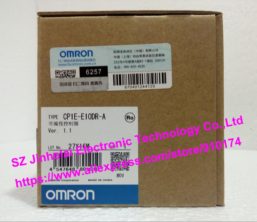 100% New and original CP1E-E10DR-A OMRON PLC CONTROLLER 100% new and original cp1e e10dr d cp1e e10dt a cp1e e10dt d omron programmable controller