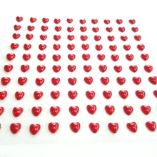 Cards-Paper Crafts Scrapbooking 100pcs/Sheet Photo-Album Heart-Pearl-Sticker Wedding-Invitation