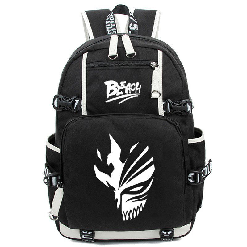 New Japanese Anime Luminous Backpack Fashion Cartoon Bleach Rucksack Students School Bags Bookbag Laptop Travel Bags sosw fashion anime theme death note cosplay notebook new school large writing journal 20 5cm 14 5cm