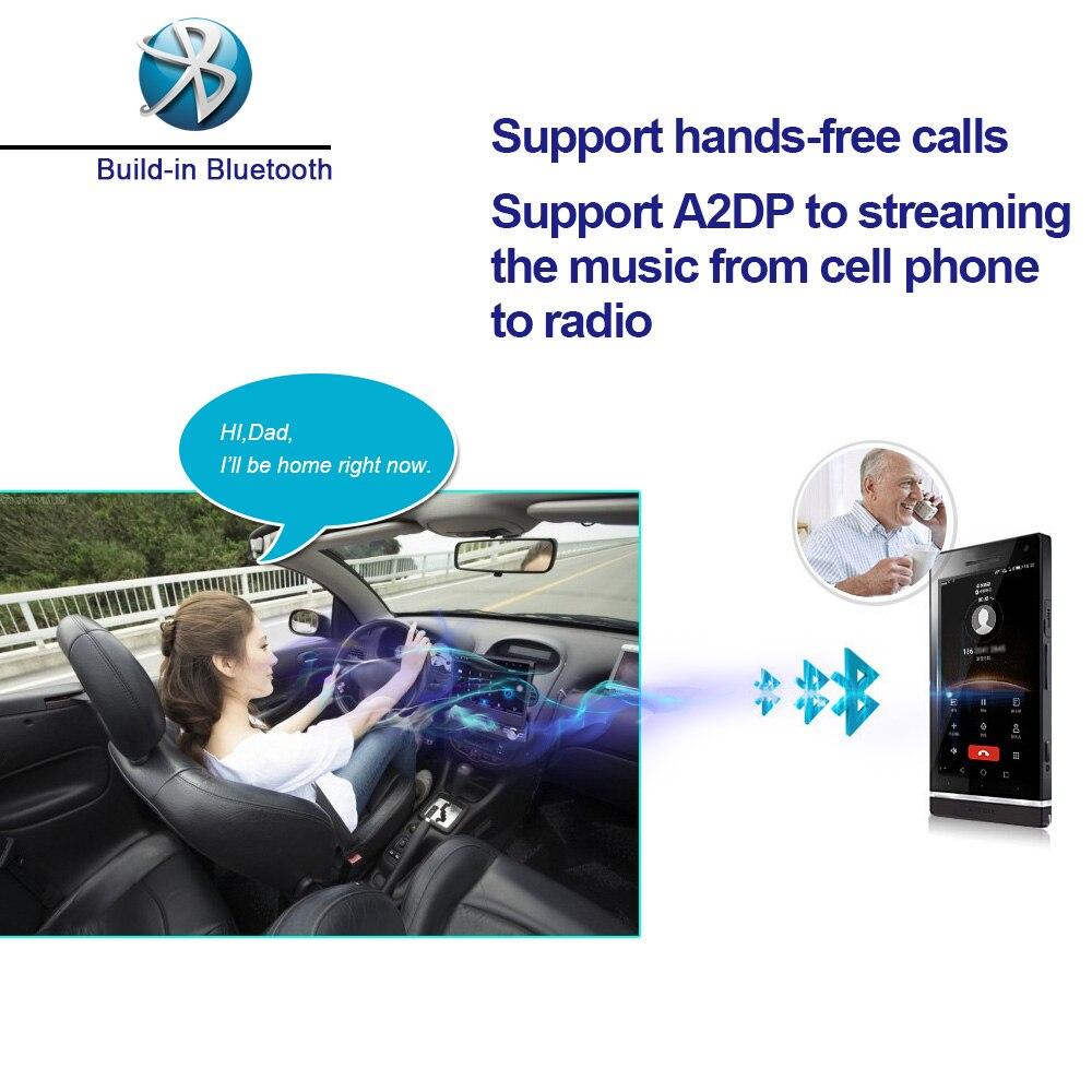 Podofo 7 ''Android Autoradio stéréo GPS Navigation Bluetooth USB SD 2 Din tactile voiture lecteur multimédia lecteur Audio Autoradio - 5