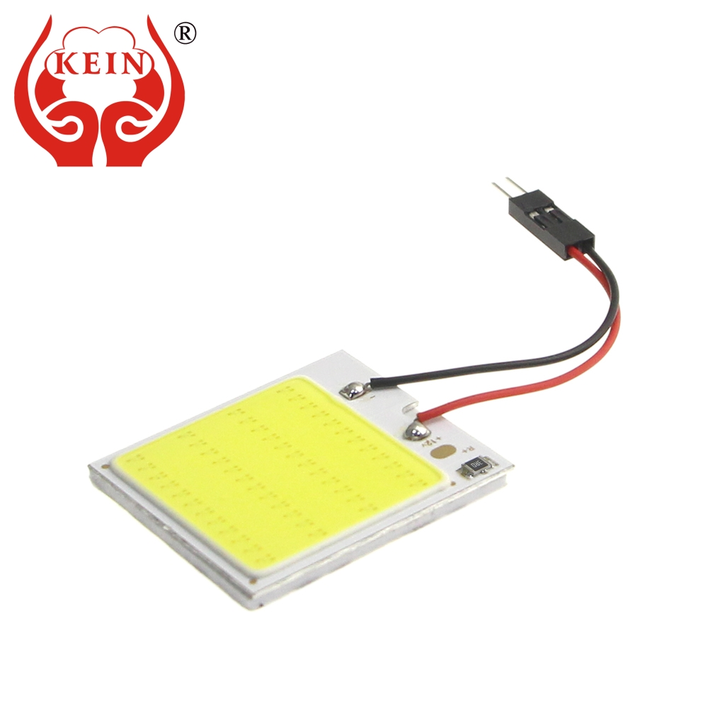 KEIN 1PCS T10 W5W C3W C5W C10W BA9S festoon Auto car led COB Reading map indicator