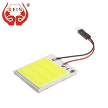 KEIN 1PCS T10 W5W C3W C5W C10W BA9S festoon Auto car led COB Reading/map/indicator/Interior ice Blue Vehicle Lamp Bulb Light 12V