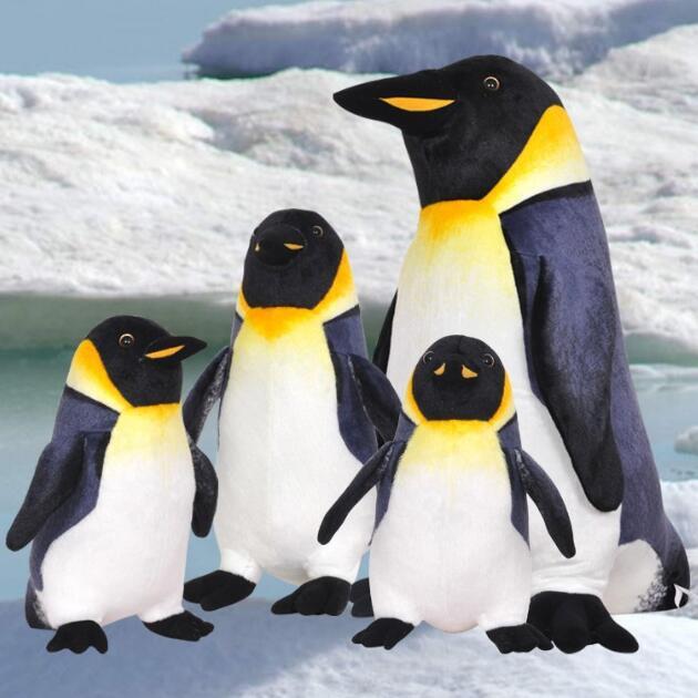 Cute Stuff Sea Simulative Animal Penguin Ocean Plush Toy Doll Children Baby Kids Birthday Gift Home Decoration Drop Shipping