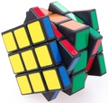 Cube4U C4U 3x3x5 Cubo Mágico de Plástico Negro Venta Caliente Rompecabezas Twisty Puzzle Juguete cubo mágico para Speedcubers