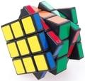 Cube4U C4U 3x3x5 Plastic Magic Cube Preto Venda Quente Twisty Cérebro Teaser de Puzzle Brinquedo cubo magico para Speedcubers