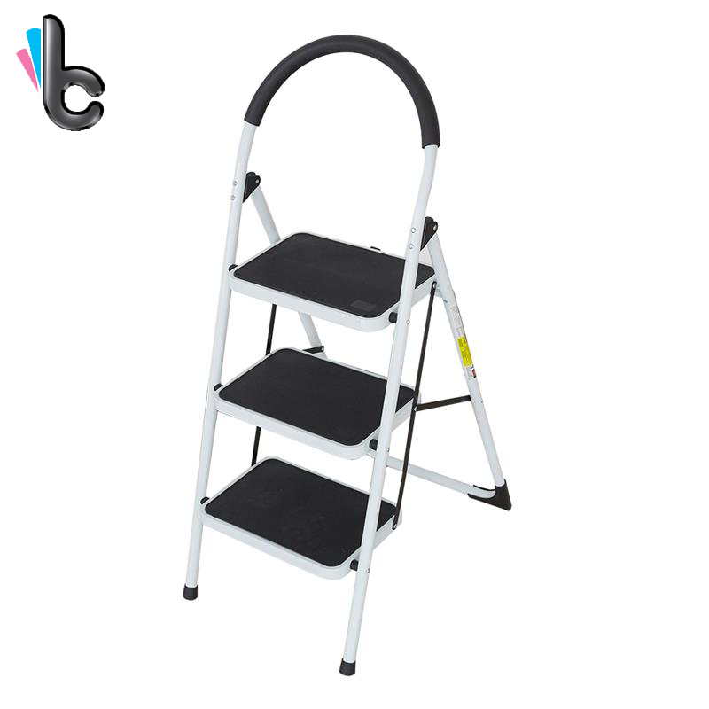 Pleasant Us 57 22 10 Off Step Ladder Three Layers Design Foldable Convenient Placement Hand Ladder With Handrails Home Supply Kitchen Furniture In Step Forskolin Free Trial Chair Design Images Forskolin Free Trialorg