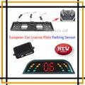 2015 Lastest Car Parking Sensor European license plate Parking Sensors System BIBI Sounder Alarm Security System Assistance