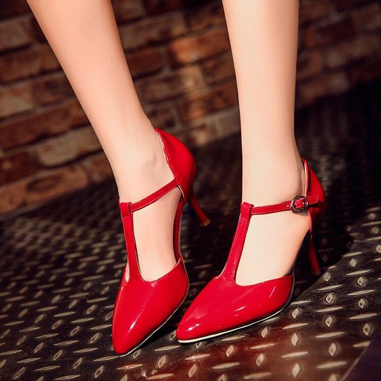 2017 Echt Rushed Medium (b, M) Tenis Feminino Damen Schuhe Große Größe 34-45 Sandalen Damen Dame Schuhe Absatzfrauen Pumpt C-30-1 Entlastung Von Hitze Und Sonnenstich