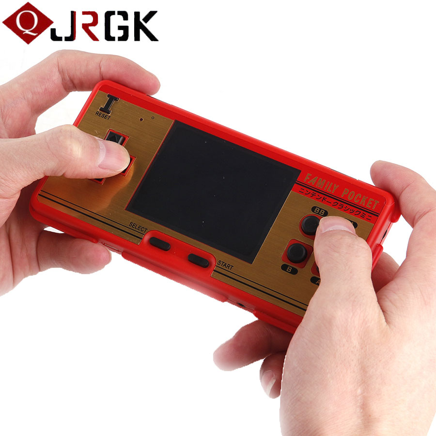 Portable Handheld Game Player Built in 638 Classic Games Console Children Video Game Consoles Family Pocket Support TV-Output