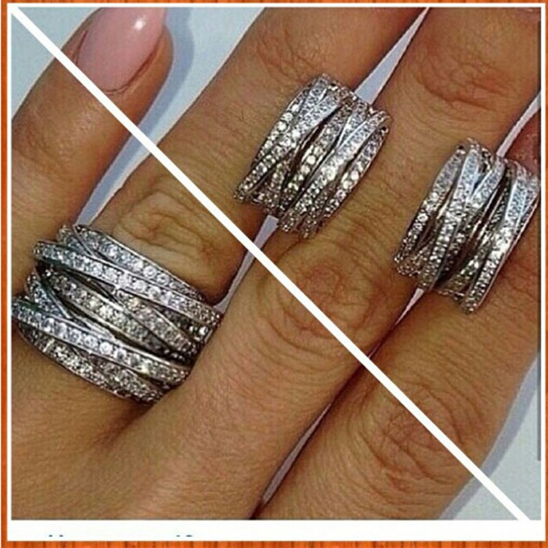 Fashion Lucky Sonny Jewelry Wholesale Top Sale Women Men Ring Design Knot Ring For Wedding Ring Solid 925 Sterling Silver X Ring
