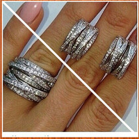 Fashion Lucky Sonny Jewelry Wholesale Top Sale Women Men Ring Design Knot Ring For Wedding Ring