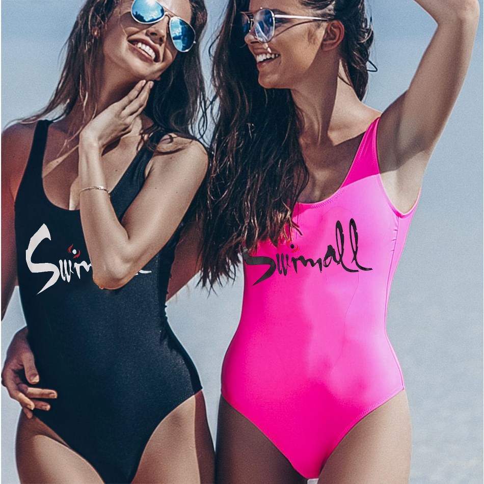 b4265dcdb2 FIGOBELL 2019 Vintage Sexy One Piece Swimsuit Women Swimwear Blue Swimming  Swimwear Monokini Retro Bodysuit Bathing